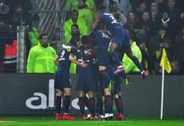 """""""Ligue 1"""": """"Lyon"""" prarado taškus, PSG palaužė """"Nantes"""" (VIDEO)"""