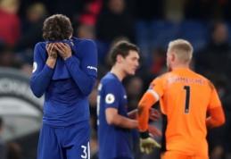 """Blankiai atrodęs """"Chelsea"""" neįveikė """"Leicester"""", """"Tottenham"""" sutriuškino """"Everton"""" (VIDEO)"""