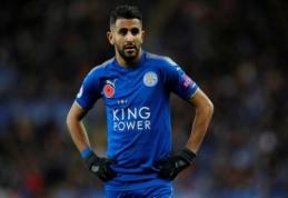 """Spauda: R. Mahrezas kelsis į """"Liverpool"""""""