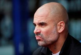 J.Guardiola išreiškė nusivylimą intensyviu tvarkaraščiu