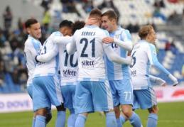 """""""Lazio"""" sutriuškino """"Sassuolo"""", """"Milan"""" laimėjo Romoje (VIDEO)"""