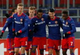 CSKA tapo pirmuoju Europos lygos aštuntfinalio dalyviu (VIDEO)