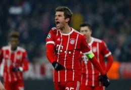 """Bayern"" pergale prieš ""Bešiktaš"" pakartojo klubo rekordą"