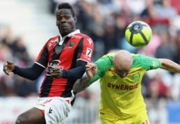 """""""Nantes"""" ir """"Lyon"""" prarado taškus, """"Marseille"""" laimėjo F. Thauvino dėka (VIDEO)"""