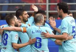 """""""Barcelona"""" po atkaklios kovos palaužė """"Eibar"""", """"Valencia"""" išsigelbėjo Malagoje (VIDEO)"""