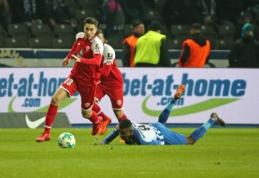 """23-asis """"Bundesliga"""" turas prasidėjo """"Mainz"""" pergale Berlyne (VIDEO)"""