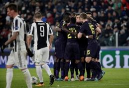 """ČL: """"Juventus"""" iššvaistė dviejų įvarčių pranašumą namuose, """"Man City"""" sutriuškino """"Basel"""" (VIDEO, FOTO)"""