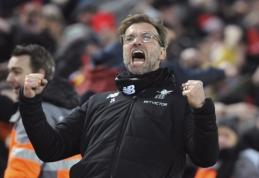 J. Kloppas: aistringas ir nepalaužiamas treneris, kuris futbolą įsivaizduoja savaip (straipsnis)