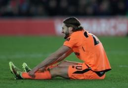 """A. Lallana parodė, kas atsitiko su kojos pirštais po rungtynių su """"Southampton"""" (FOTO)"""