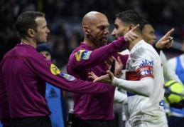 """""""Ligue 1"""": """"Nantes"""" sužaidė lygiosiomis, o """"Lyon"""" patyrė trečią pralaimėjimą iš eilės (VIDEO)"""