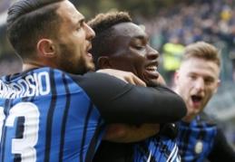 """Italijoje - """"Inter"""", """"Sampdoria"""" ir """"Roma"""" pergalės (VIDEO)"""