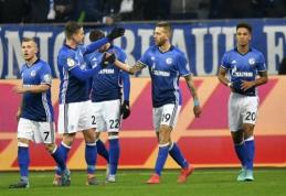 """""""Schalke"""" ir  """"Eintracht"""" prasibrovė į Vokietijos taurės pusfinalį (VIDEO)"""