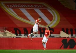 """""""Monaco"""" panaikino dviejų įvarčių deficitą ir dešimtyje nukovė """"Lyon"""" (VIDEO)"""