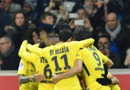 """PSG išvykoje nugalėjo """"Lille"""", """"Nice"""" nusileido """"Toulouse"""" (VIDEO)"""