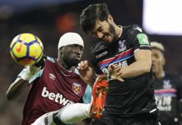 """""""West Ham"""" ekipa atleido skandalą sukėlusį direktorių"""