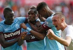 """""""West Ham"""" ekipą supurtė rasizmo skandalas"""