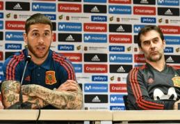 S. Ramosas išsikėlė sau tikslą įsirašyti į Ispanijos rinktinės istoriją