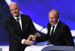 B.Johnsonas: V.Putinas pasinaudos pasaulio čempionatu, kaip A.Hitleris padarė 1936-aisiais