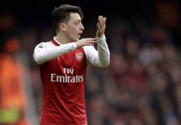 """M. Ozilas: pratęsti sutartį su """"Arsenal"""" buvo lengva"""