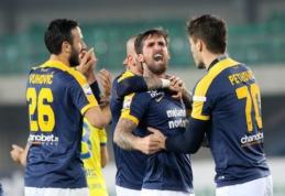 """""""Hellas"""" iškovojo svarbią pergalę prieš """"Chievo"""" (VIDEO)"""