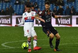 """""""Lyon"""" ir """"Montpellier"""" pasidalino po tašką, """"Marseille"""" įmušė 95-ą minutę ir išplėšė lygiąsias prieš """"Nantes"""" (VIDEO)"""