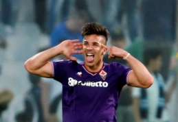 """""""Fiorentina"""" žudo intrigą: sutriuškino """"Napoli"""", """"Lazio"""", """"Atalanta"""" ir """"Milan"""" pasiekė pergales (VIDEO)"""