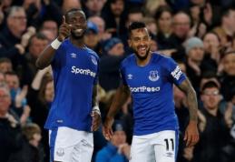 ''Everton'' minimaliu skirtumu palaužė ''Newcastle'' (VIDEO)