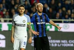 """""""Inter"""" ir """"Atalanta"""" išsiskyrė taikiai, """"Torino"""" neįveikė """"Chievo"""" (VIDEO)"""