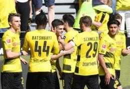 """Borussia"" sutriuškino Štutgarto ekipą (VIDEO)"