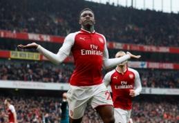 """""""Arsenal"""" palaužė """"Southampton"""", """"Chelsea"""" neįveikė """"West Ham"""" (VIDEO)"""
