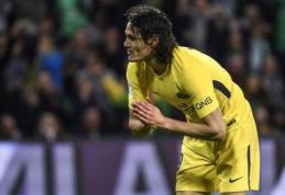"""Mažumoje likusi PSG per pridėtą laiką išplėšė lygiąsias su """"St-Etienne"""" (VIDEO)"""