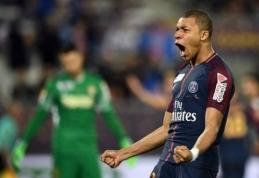 Prancūzijos lygos taurės finale be didesnio vargo triumfavo PSG (VIDEO)