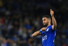 """Spauda: """"Man City"""" pasiekė susitarimą su """"Leicester"""" dėl R. Mahrezo"""