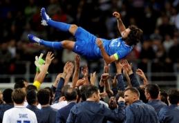 A. Pirlo atsisveikinimo rungtynėse - būrys legendų ir 14 įvarčių (VIDEO)