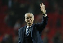 "Oficialu: C.Ranieri palieka ""Nantes"" klubą"