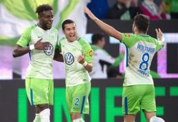 """Kovoje dėl išlikimo - itin svarbi """"Wolfsburg"""" pergalė"""