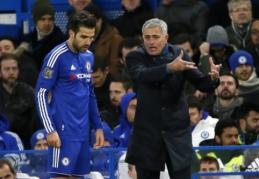 C. Fabregasas: aš myliu Mourinho