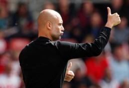"""Oficialu: P. Guardiola pratęsė sutartį su """"Man City"""""""