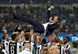 A.Sacchi: M.Allegri - nepajėgus triumfuoti Europoje