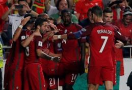 """Portugalų sudėtis - be """"dingusio"""" R. Sancheso"""