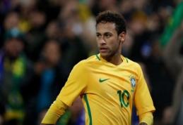 Brazilija paskelbė į Rusiją vyksiančią komandos sudėtį