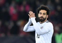 Egiptas paskelbė preliminarią pasaulio čempionato sudėtį