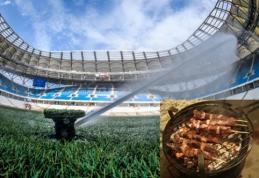 Vasara - be šašlyko: rusai uždraudė pasaulio čempionato metu kepti maistą lauke