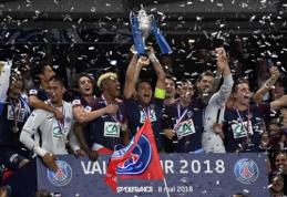 Kuklų klubą Prancūzijos taurės finale įveikęs PSG iškovojo trečią sezono trofėjų (VIDEO)