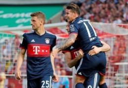 """""""Bundesliga"""": """"Bayern"""" laimėjo Kelne, """"Hoffenheim"""" patyrė skaudžią nesėkmę (VIDEO)"""
