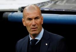 """Z. Zidane'as: laimėti """"La Liga"""" yra sunkiau nei Čempionų lygą"""