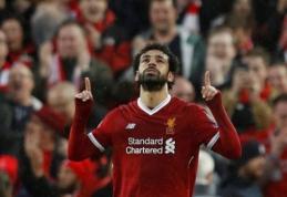 A. Elmohamady: Salah nėra viename lygyje su Messi ir Ronaldo