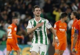 """""""Malaga"""" nepajėgė sustabdyti """"Real Betis"""" mašinos (VIDEO)"""