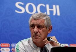 Ant žurnalistų pyktelėjęs F. Santosas: komanda nėra sudaryta tik iš C. Ronaldo
