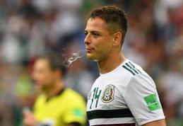 Meksikos rinktinė gali sensacingai nepatekti į atkrintamąsias varžybas
